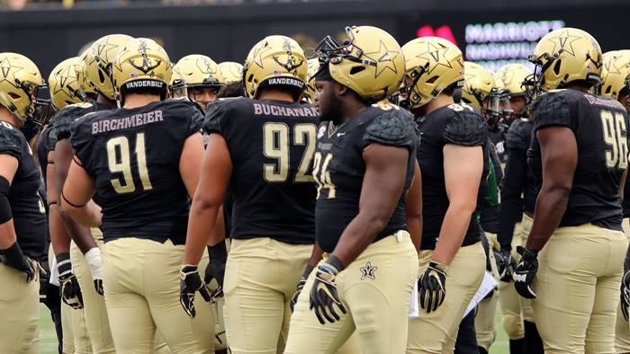 Vanderbilt football players