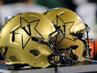 Vanderbilt football helmets