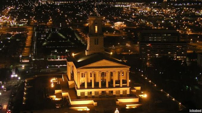 Tennessee State Capital Building by Ichabod