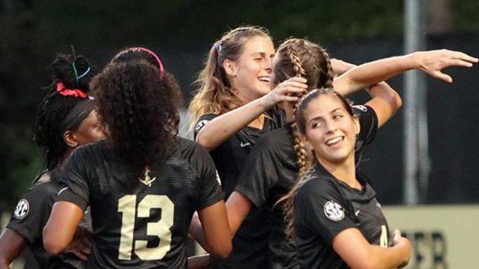 Vanderbilt Soccer Player Celebrate IMG_9513