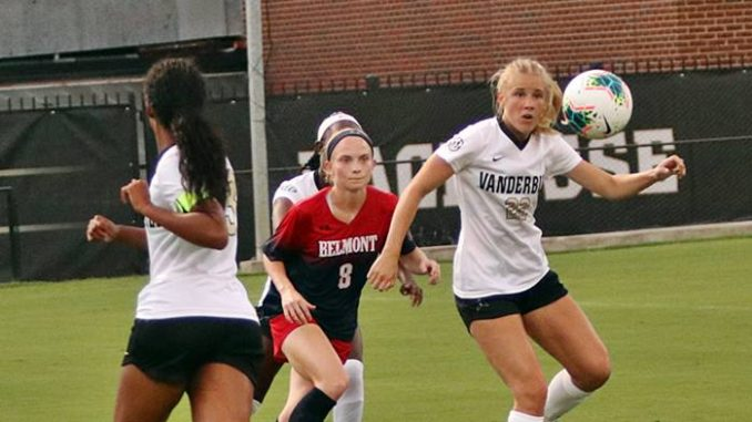 Vanderbilt and Belmont Soccer Players
