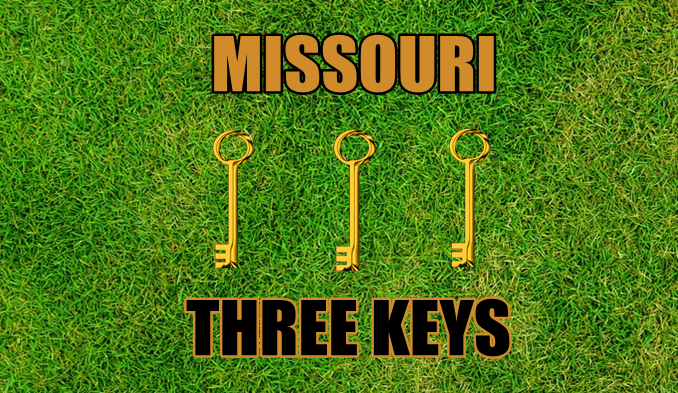 Three keys Missouri