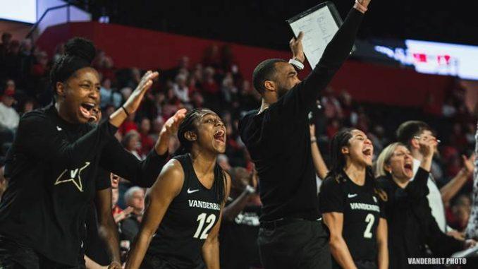 Vanderbilt women celebrate