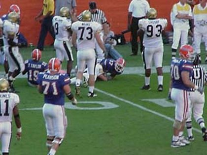 Vanderbilt at Florida football November 6, 1999