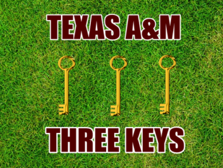 Three Keys for Texas A&M