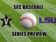 LSU-Vanderbilt baseball series preview