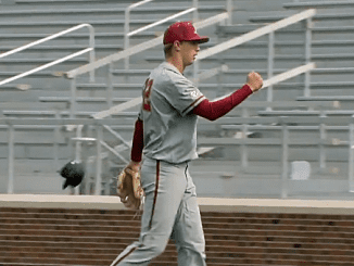 Alabama Baseball Player