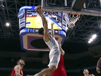 Kentucky Basketball dunk