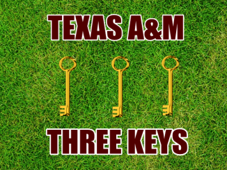Three-keys-Texas A&M