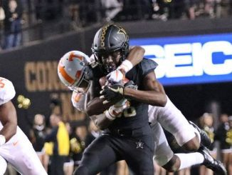 Vandy player carries UT player