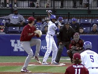 Kentucky baseball player