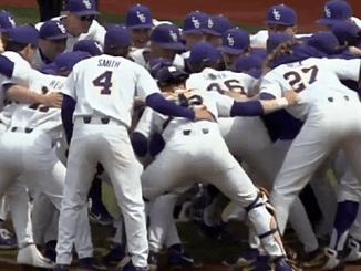 LSU baseball Players