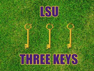 LSU Three keys