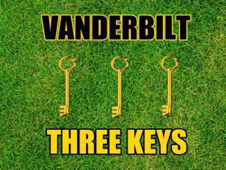 Three keys Vanderbilt
