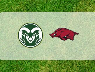 Arkansas and Colorado State logos