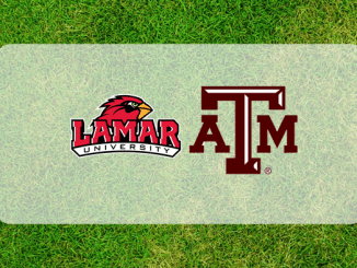 Texas A&M and Lamar logos