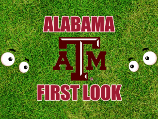 Eyes on Texas A&M logo