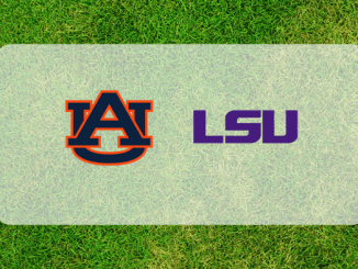 Auburn and LSU logos