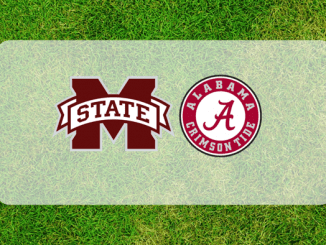 Mississippi State and Alabama logos