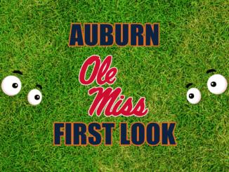 Auburn First-look Ole Miss