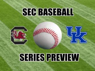 Kentucky-South Carolina baseball series preview