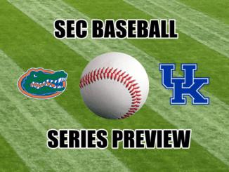 SEC Baseball Series Preview Florida at Kentucky